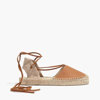 Madewell Soludos Platform Gladiator Sandals In Leather Tan