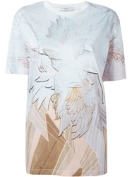 Givenchy Wings Print T Shirt White