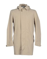 Geox Coats And Jackets Full Length Jackets Men Beige