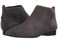 Marc Fisher Hilary Grey Suede Women's Shoes Gray