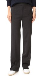 Vince Wide Leg Pants Heather Charcoal