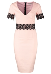 Paper Dolls Cocktail Dress Party Dress Blush Nude