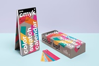 Shop Color Swatch Calendar 2016 Slanted Typo Weblog Und Magazin