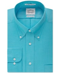 Eagle Men's Classic Fit Non Iron Pinpoint Dress Shirt Pool