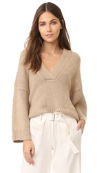 Nili Lotan Logan Sweater Flax