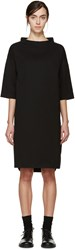 Studio Nicholson Black Capponi Darted Smock Dress