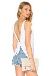 Lamade Alex Tie Back Tank White