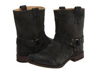 Frye Smith Harness Charcoal Men's Pull On Boots Gray