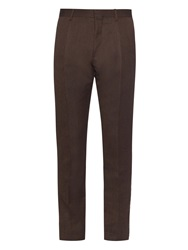 Cerruti Single Pleat Wool Trousers