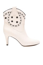 Marc Jacobs Georgia Cowboy Boot Ivory