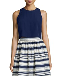 Erin Fetherston Quinne Sleeveless Crop Top