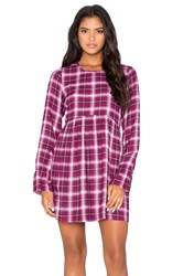 Bcbgeneration Plaid Dress Pink