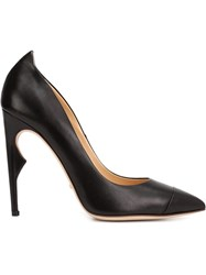 Jerome Rousseau Pointed Stilettos Black