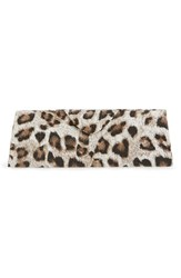 Women's Corinne Mccormack Leopard Print Triangle Reading Glasses Case