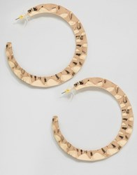 Aldo Paese Hoop Earrings Gold