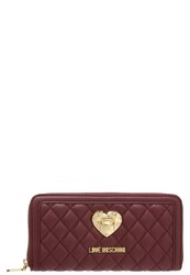 Love Moschino Wallet Bordeaux