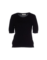 Scrupoli Sweaters Black