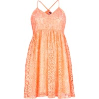 River Island Womens Pink Chelsea Girl Lace Babydoll Dress
