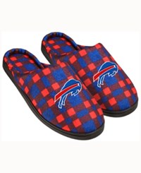 Forever Collectibles Buffalo Bills Flannel Slide Slippers Blue