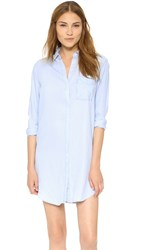 Rails Sawyer Button Down Shirtdress Light Vintage Wash