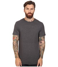 Rvca Label Vintage Dye Tee Black Men's T Shirt
