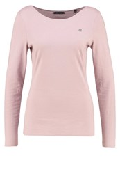 Marc O'polo Long Sleeved Top Powder Rose