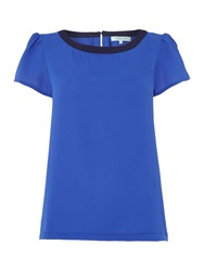 Dickins And Jones Shell Top Cobalt