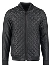 Voi Jeans Collins Faux Leather Jacket Black