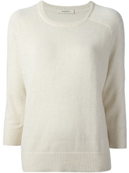 Sessun Raglan Sleeve Sweater Nude And Neutrals