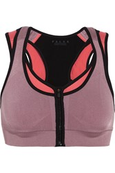 Falke Ergonomic Sport System Versatility Stretch Jersey Sports Bra Purple