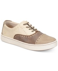 Born Born Cymbal Lace Up Sneakers Women's Shoes Tan