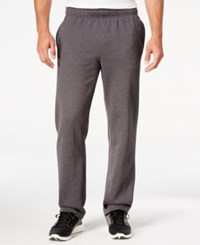 Champion Men's Fleece Powerblend Pants Granite Heather