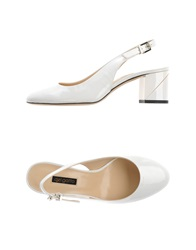 Del Gatto Pumps White