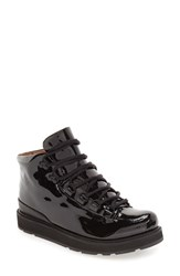 Blackstone Women's 'Mw76' Water Resistant Boot Nero Patent Leather