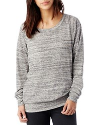 Alternative Apparel Slouchy Space Dye Eco Jersey Pullover Grey