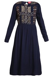 Derhy Galet Summer Dress Marine Dark Blue