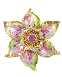 Sonia Daffodil Pin Jay Strongwater Multi Colors