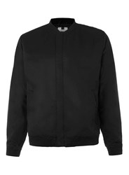 Topman Black Lightweight Bomber Jacket
