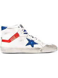 Golden Goose Deluxe Brand '2.12' Hi Top Sneakers White