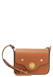 Coccinelle Clessidra Across Body Bag Cuoio Cognac