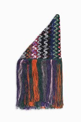 Missoni Women S Metallic Fringe Shawl Boutique1 Multi
