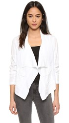 Splendid Canyondale Mixed Media Jacket White