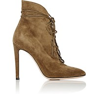 Gianvito Rossi Women's Lace Up Ankle Boots Green