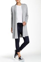 Riller And Fount Long Sleeve A Line Cardigan Gray
