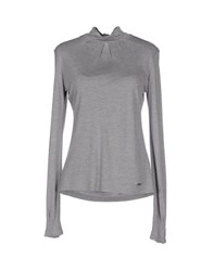 Woolrich Topwear T Shirts Women Grey