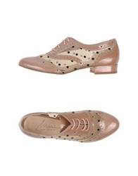 Marian Lace Up Shoes Dove Grey