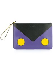 Emporio Armani Colour Block Clutch Multicolour