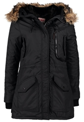 Schott Nyc Parka Black