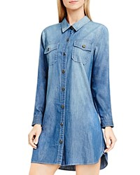 Vince Camuto Two By Denim Shirt Dress Authentic