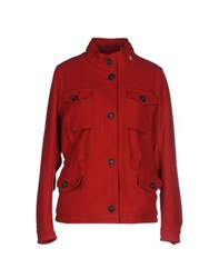 Dekker Coats And Jackets Jackets Women Brick Red